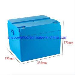 12V 100Ah long cycle de haute puissance de batterie rechargeable LiFePO4/ prismatique/ EV des cellules de batterie batterie Lithium-ion de voiture avec ce certificat RoHS