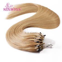Estensione facile brasiliana dei capelli dell'anello dei capelli umani del Virgin micro