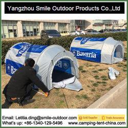 Túnel de dos personas de la cerveza impermeable al aire libre Camping Carpa personalizada