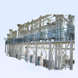 150T/D du blé maïs Riz électrique Grits la farine de maïs usine de broyage de rouleau