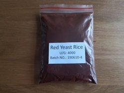 China Fabricante de alta qualidade não OGM de fermento em pó de Arroz Vermelho