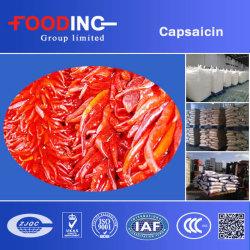 Capsaïcine, oléorésine 6.6% soluble dans l'huile, extrait de poivron de poivron