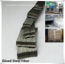 Cemmentまたはコンクリートのためのつけられた鋼鉄ファイバーの金属のファイバー
