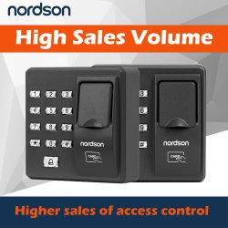 Meilleure vente de serrure de porte biométrique Système de sécurité d'empreintes digitales avec clavier contrôleur d'accès RFID