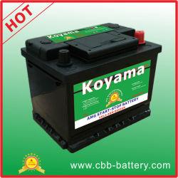 De uitstekende 12V Verzegelde AGM Batterij van de Auto van het Einde van het Begin AutoDIN55ah
