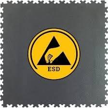 Pavimentazione conduttiva/mattonelle del PVC di ESD per esso stanza di servizio