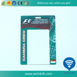 Commerce de gros prix bon marché en matière plastique atypique/ PVC carte photo