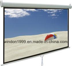 """70""""x70""""Ручная проекционного экрана с системой Auto-Lock, Китай проекционного экрана"""