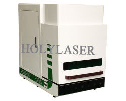 De Laser die van de Vezel van China van de lage Prijs Machine voor Metaal merken