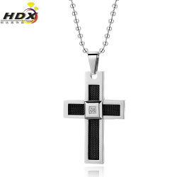Ювелирные изделия из нержавеющей стали мода для мужчин бусы креста пульта управления (HDX1006)