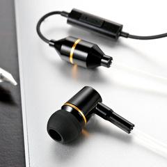 Fone de ouvido mono Metal Populares Ibrain isolar radiação com microfone