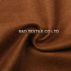 Замшевая отделка гладка Warp 100% полиэстер велюр ткань для одежды