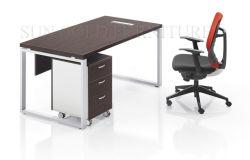 Moderne Woodern metalen frame Office computer tafel Bureau meubelen ontwerpen (SZ-ODB356)