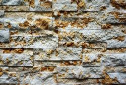 Precio al por mayor de mármol beige de suelo de piedra de la cultura de la piedra Flexible barniz