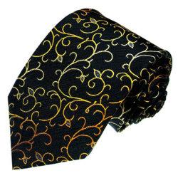 Linha de ouro de moda masculina Color Design tecidos laços de seda