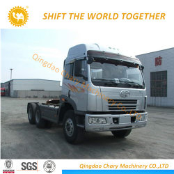 China Tractor Truck FAW 6X6 380HP Sleepvoertuig te koop