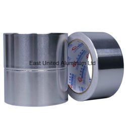 Cintas autoadhesivas resistente al agua de superficie con papel de aluminio
