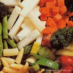 동결된 야채, IQF 야채, Bqf 야채, 언 야채 퓨레, IQF는 야채, 언 혼합 야채를 섞었다