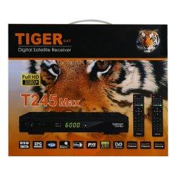 Tiger спутниковый ресивер Tiger T245 Макс DVB S2 Цифровой спутниковый ресивер поддержку WiFi и MPEG и H 264 с бесплатным каналам