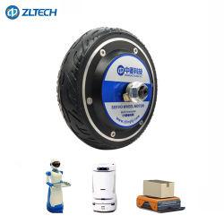 Certificação CE 6.5 Polegada 36V 48V 250W 5N . M 120kg de carga DC sem escovas Motor do cubo da roda com o Codificador do Servo