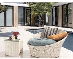 OEM / ODM Patio en usine de mentir lit meubles Ad Table où obtenir de bon marché les meubles de patio