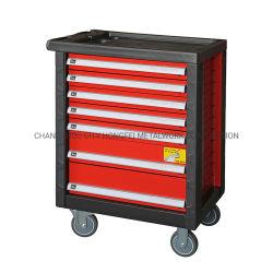 Системы хранения данных для тяжелого режима работы металлические 7 выдвижной ящик Стальной валик приспособления кабинета в гараж