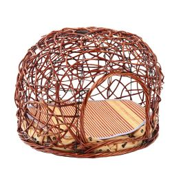 Factory Direct Quatre Saison Cat en rotin cage amovible