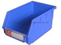 El apilamiento de piezas de repuesto de almacenamiento de nave industrial Recipiente de plástico