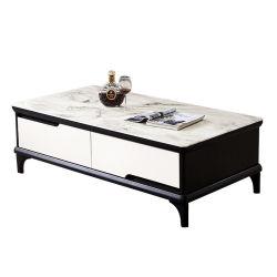 居間の家具現代安いMDFのコーヒーテーブルデザイン