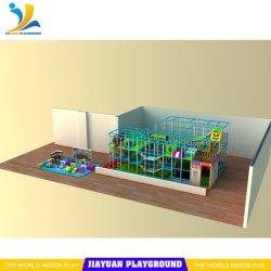 Zona interior niño suave deslizar de gran diversión para niños Parque de Diversiones