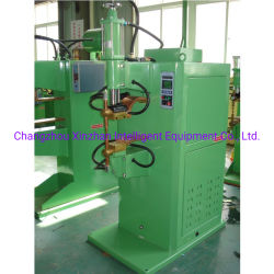 化学容器のためのトラスたが及びクランプDtnシリーズAC半自動空気の点及びプロジェクション溶接機械