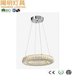 Colgante de Cristal de la familia de la luz de lámpara de suspensión con faceta Glass Bar