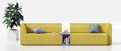 Мода мебель для офиса кресла кушетки ткань диван (HC-Moduuli)