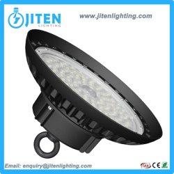 작업장 공장 창고 LED 거리 플러드 갱도 닫집 태양 옥외 램프를 위한 에너지 절약 150W 고성능 산업 점화 UFO LED 높은 만 실내 빛