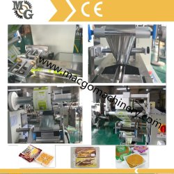 Biscoito Wafer automática com bandeja máquina de embalagem/máquina de embalagem Biscoito Horizontal