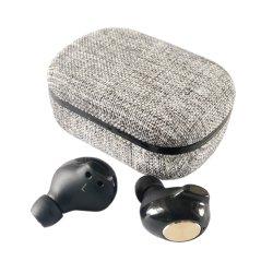 직물 5.0 Tws 비용을 부과 케이스를 가진 귀 이어폰에 있는 무선 Bluetooth Earbuds 헤드폰 헤드폰