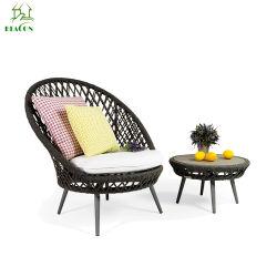 Venda por grosso de mobiliário varanda exterior mobiliário de tecidos de vime