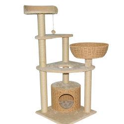 Мода на заводе дизайн оптовая OEM-Pet Дом Cat Скалолазание дерева