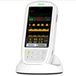 Monitor de Sinais Vitais de mão com ETCO2 Gás anestesia de SpO2