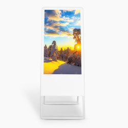LCD Monitor Advestising interior portátil permanente a sinalização Digital Media Player
