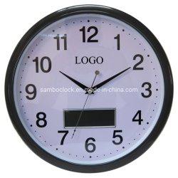 昇進のための熱い販売のクリスマスのギフトLCDの柱時計