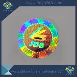 3D Dynamische Ronde Sticker van het hologram