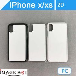 iPhone X/Xs Sublimation-Leerzeichen 2D PC Telefon-Kasten/Deckel für Wärmeübertragung-Drucken