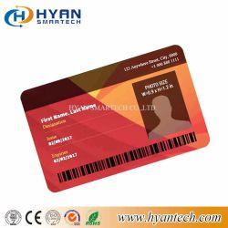 Carte RFID haute sécurité de l'identité avec photo et film holographique Laser