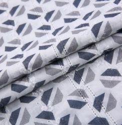 Tejido de algodón patrón geométrico de la impresión digital bordados textil tejido de algodón