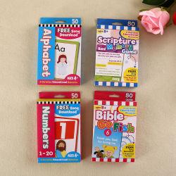 Schede di gioco delle schede del gioco da tavolo delle schede istantanee del bambino