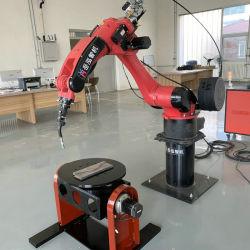 El bastidor de malla de alambre de alta eficacia bloque deslizante sistema soldadora de Robots industriales