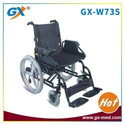 Sedia a rotelle elettrica piegante di potenza della batteria