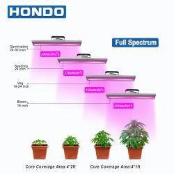 مؤشر LED كامل الطيف يزرع الضوء للنباتات الداخلية النباتية همب تنمو وتنمو
