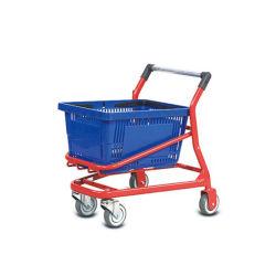 Carrinho de crianças com cesta carrinhos de compras de supermercado Mini carrinho da Cesta